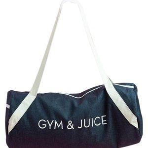 Handbags - Gym & Juice Denim weekend/workout travel bag
